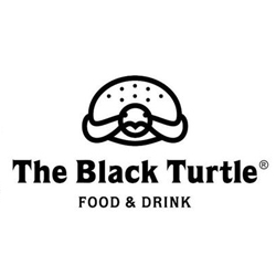 The black turtle-logo