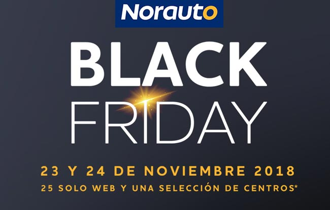 ¡EL BLACK FRIDAY LLEGA A NORAUTO!