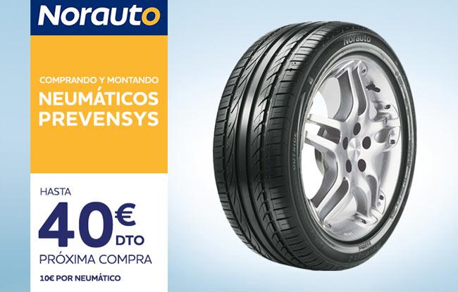 Neumáticos Prevensys en Norauto
