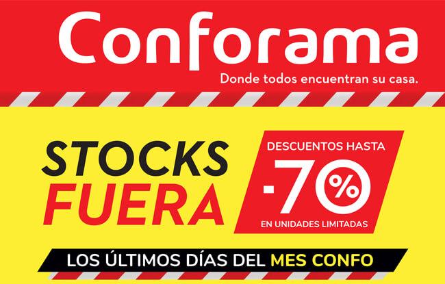STOCKS FUERA descuentos hasta -70% en unidades limitadas