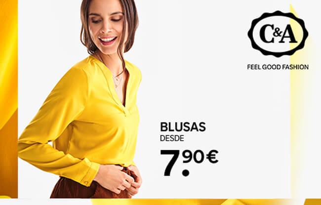 Blusas desde 7.90€