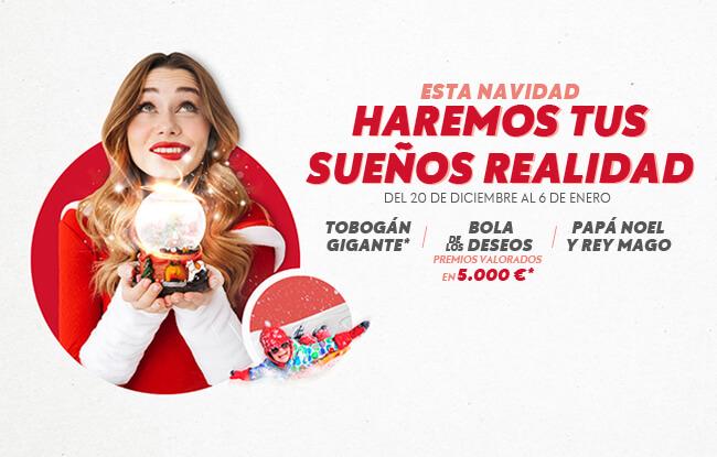 Esta Navidad haremos tus sueños realidad