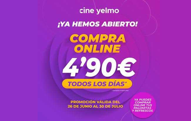 Entradas de cine a 4,90€